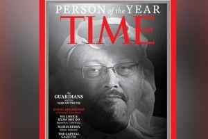Журнал Time присвоїв титул «Людина 2018 року» журналістам