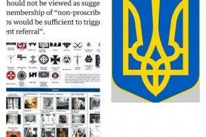 Український тризуб потрапив до посібника з екстремізму у Британії