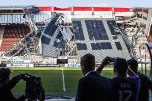 У Нідерландах обвалився дах на стадіоні, де мав грати український клуб