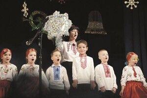 І дорослі, й маленькі христослави поєдналися у«Різдвяних піснеспівах»