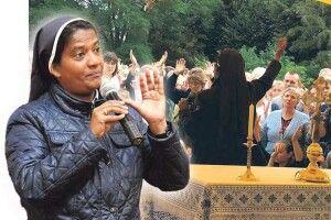 Монахиня зІндії доукраїнців: «Слухайте, моліться «Отче наш» ічекайте!»