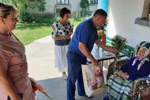 Жителька Горохівщини відсвяткувала 100-літній ювілей