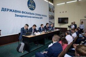 Після візиту Президента Закарпатська митниця збільшила перекази до держбюджету на 80%