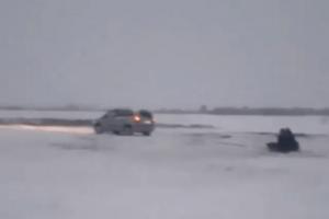 На Ратнівщині влаштували екстремальні зимові розваги з вітерцем
