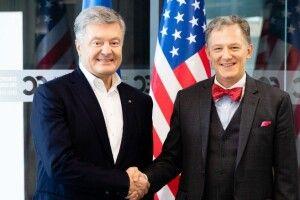 Петро Порошенко зустрівся з Тимчасовим повіреним у справах США в Україні Джорджем Кентом