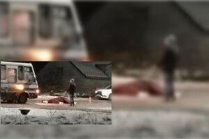 Рейсовий автобус на смерть збив коня