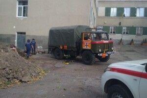 У Тернополі на території школи знайшли 110 артснарядів