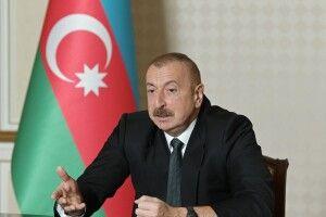 Президент Азербайджану висунув умови припинення бойових дій в Нагірному Карабасі