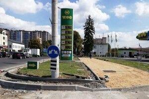 У Луцьку вулицю Рівненську ремонтують за європейські гроші