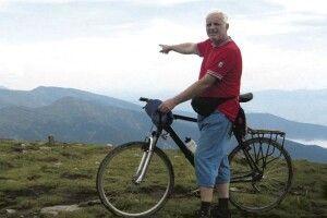 Не стало відомого енергетика тазатятого шанувальника велоспорту Юрія Леуша (Фото)