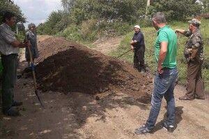 У Луцькому районі громада долучилася до ремонту вулиці