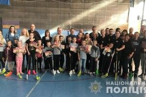 У Луцьку організували спортивне свято для дітей поліцейських