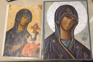Волинська художниця вперше намалювала ікону