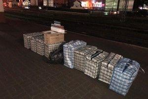 На Ковельському вокзалі у громадян вилучено 11 тисяч пачок контрафактних цигарок!
