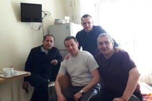 Сенцов відвідав у лікарні колишніх політв'язнів Кремля