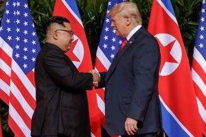 Лідер КНДР Кім Чен Ин висловив готовність провести ще один, третій за рахунком саміт з президентом США Дональдом Трампом