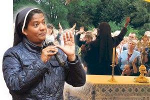 Монахиня зІндії: «Ітоді Бог сказав мені: «Ятебе послав вУкраїну, щоб ти зцілювала людей…»