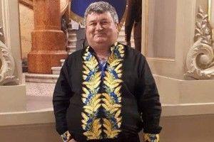 Будівельник ізНововолинська одягнув увишиванки німців
