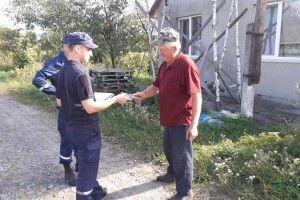 Рятувальники на Ковельщині та в Луцькому районі нагадували людям, щоб не легковажили з вогнем