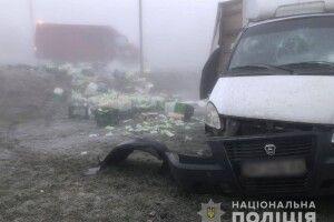 На Волині зіткнулись три автомобілі (фото)