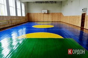 У Машеві відремонтували шкільний спортзал