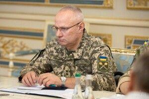 Руслан Хомчак іде з посади Головнокомандувача ЗСУ