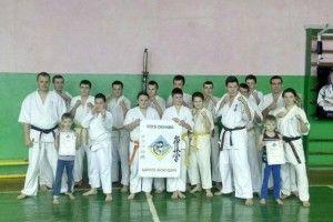 Жидичинські каратисти посіли призові місця на міжнародних змаганнях