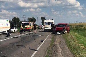 ДТП на Рівненщині: «карети швидкої» і понівечені машини (Відео)