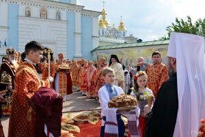 «Як на Епіфанія іменини...»: у Києві святкують день тезоімеництва Предстоятеля ПЦУ (фото)