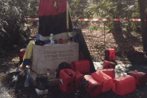 Огидні покидьки вчинили зухвалий акт вандалізму на могилі Степана Бандери в Мюнхені