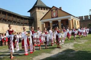 У Луцьку першокурсників посвячували у замку