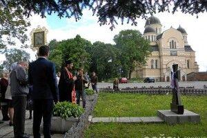 У Берестечку вшанували пам'ять півсотні полонених січових стрільців, яких 100 років тому підло розстріляли поляки