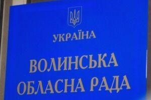 Відразу три волинських нардепи прибули на сесію обласної ради