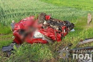 Затримали водія, який спричинив резонансну ДТП на Рівненщині із чотирма загиблими (Фото, відео)