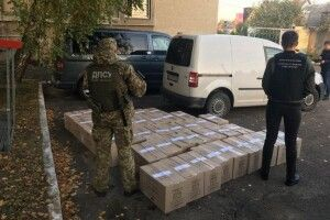 У Ковелі затримали контрафактні цигарки на півмільйона гривень