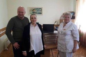 Фонд «СТОПРАК» подарував Волинському онкодиспансеру ноутбуки