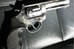 Повертаючись з Польщі, чоловік прихопив з собою пістолет
