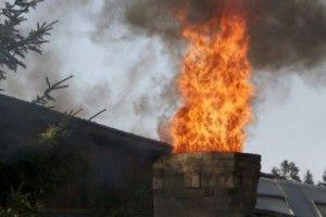 Матір з дитиною ледве не згоріли у пожежі