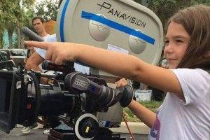«Наймолодша режисерка усіх часів»: у Голлівуді знімає фільм восьмирічна дівчинка