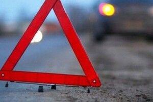 У Луцькому районі мотоцикліст збив велосипедиста, є постраждалі