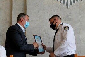 Волинських поліцейських привітали з професійним святом