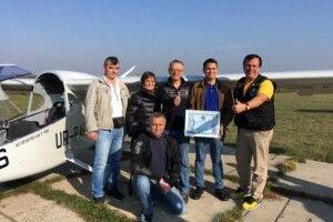 Український літак для польоту з Рівненщини на Київщину витратив менше 10 літрів палива і встановив світовий рекорд