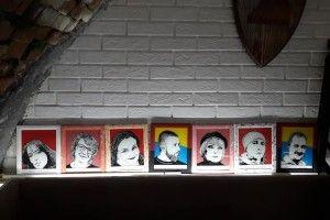 Атовець створив серію фотопортретів волинських волонтерів на склі (Фото)