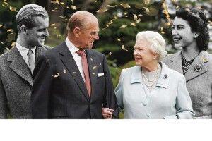 Королева ЄлизаветаII іпринц Філіп: їхній шлюб тривав 73роки іп'ять місяців