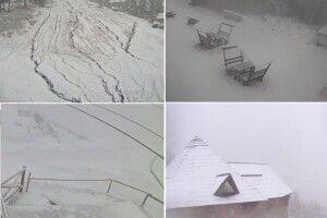 В Україні вже можна зліпити снігову бабу