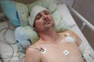 Волинянин, який отримав вогнепальне поранення, потребує допомоги