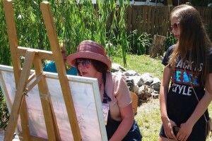 Ковельські митці показали себе на Запоріжжі