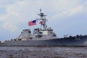 Ракетний есмінець ВМС США Carney заходить в Чорне море