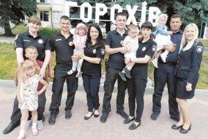 Поліцейські подружжя: «Це було кохання зпершого погляду»