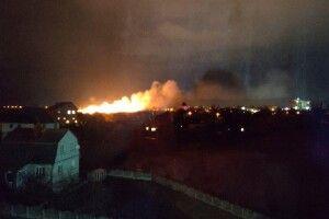 У Луцьку – грандіозна пожежа! (Фото. Відео)